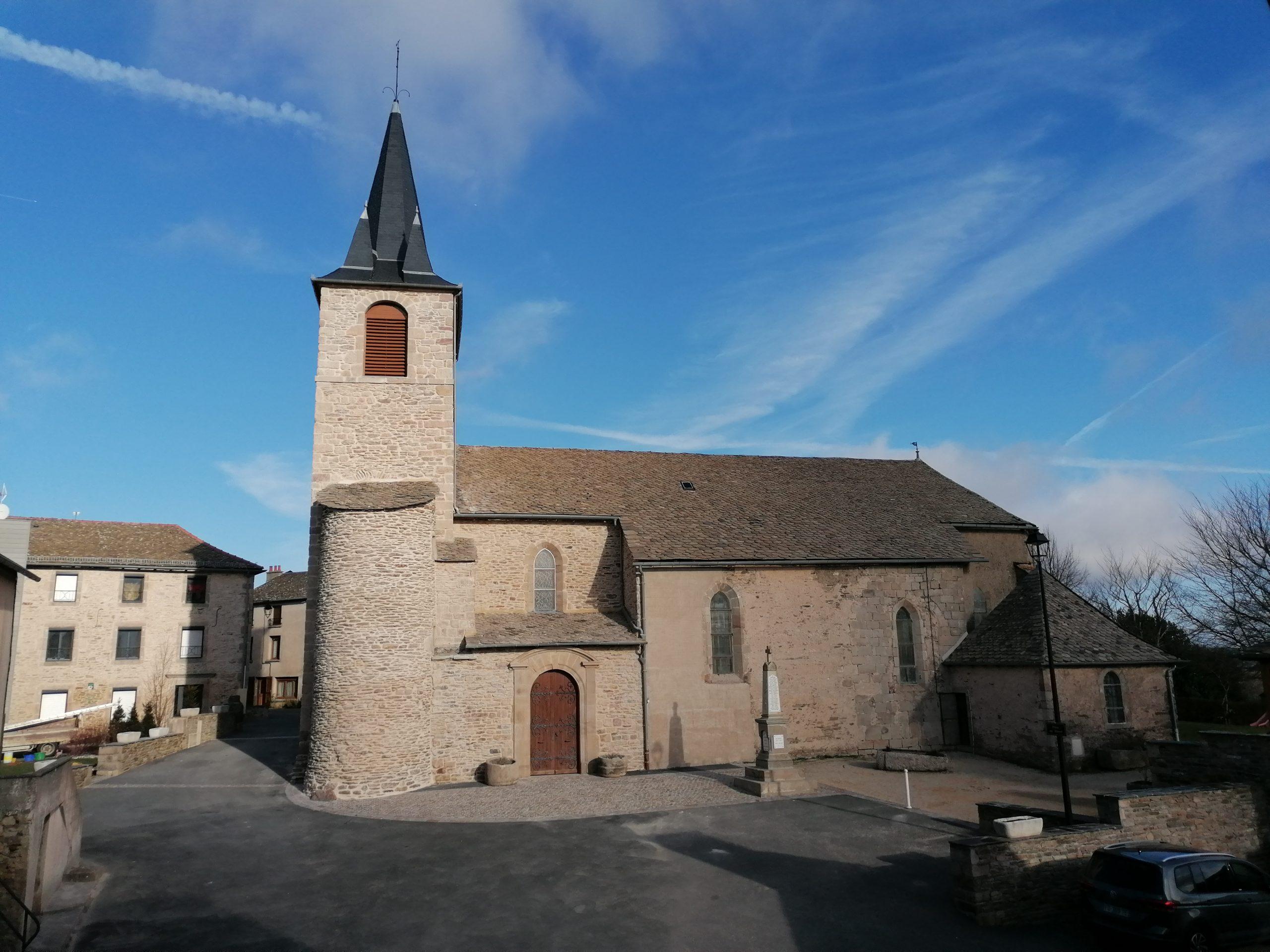 Photo de l'église Saint Pierre de Curan